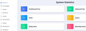ICTFax - Dashboard